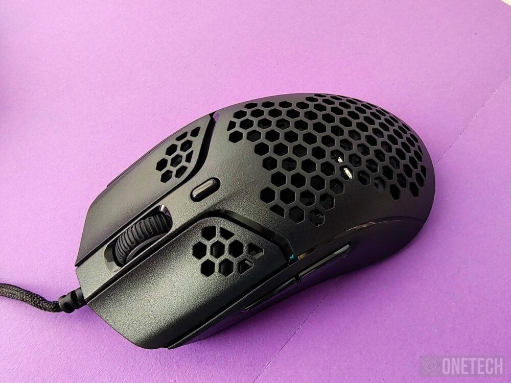 HyperX Pulsefire Haste, un ratón perforado ultraligero - Análisis 15
