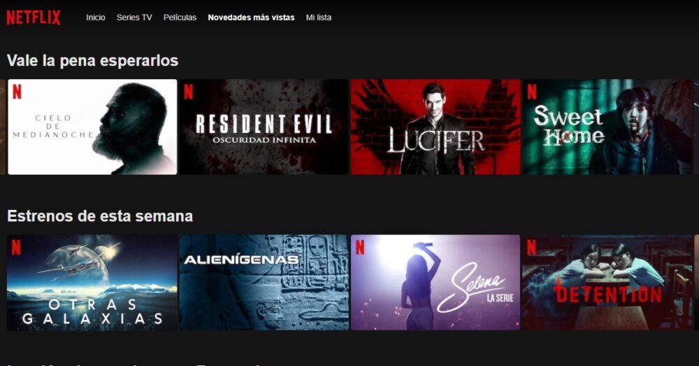 Estrenos de Netflix en Diciembre