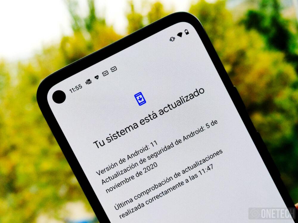 Actualización de Noviembre de Android 11