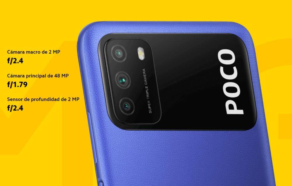 El POCO M3 es oficial con batería de 6.000 mAh 1