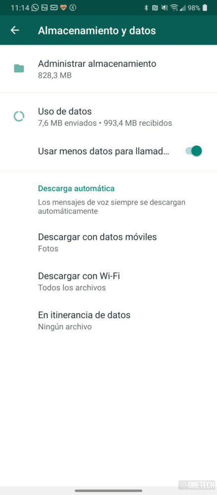 WhatsApp facilita borrar sus archivos almacenados de forma masiva 1