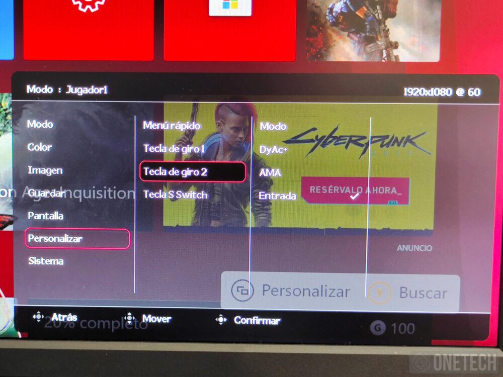 BenQ Zowie XL2546K, un monitor para profesionales de los eSports - Análisis 23