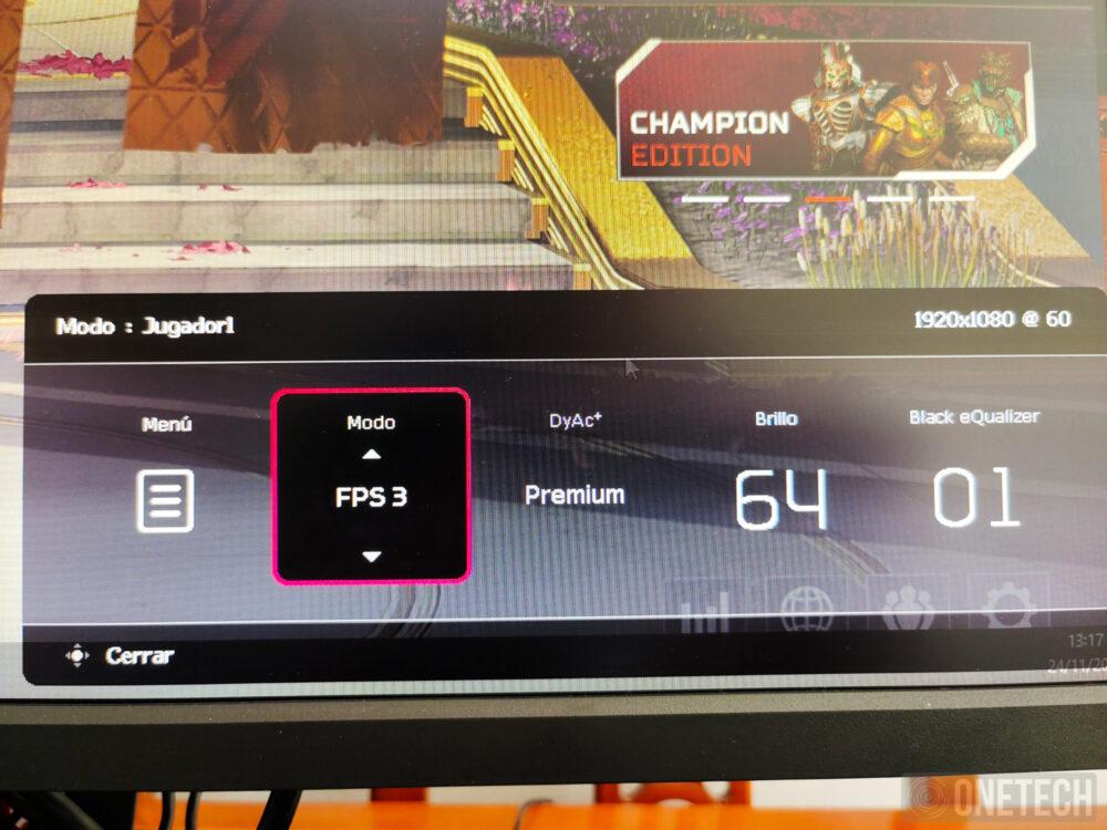 BenQ Zowie XL2546K, un monitor para profesionales de los eSports - Análisis 21