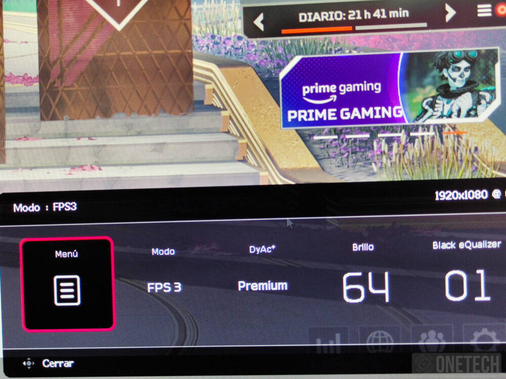 BenQ Zowie XL2546K, un monitor para profesionales de los eSports - Análisis 20