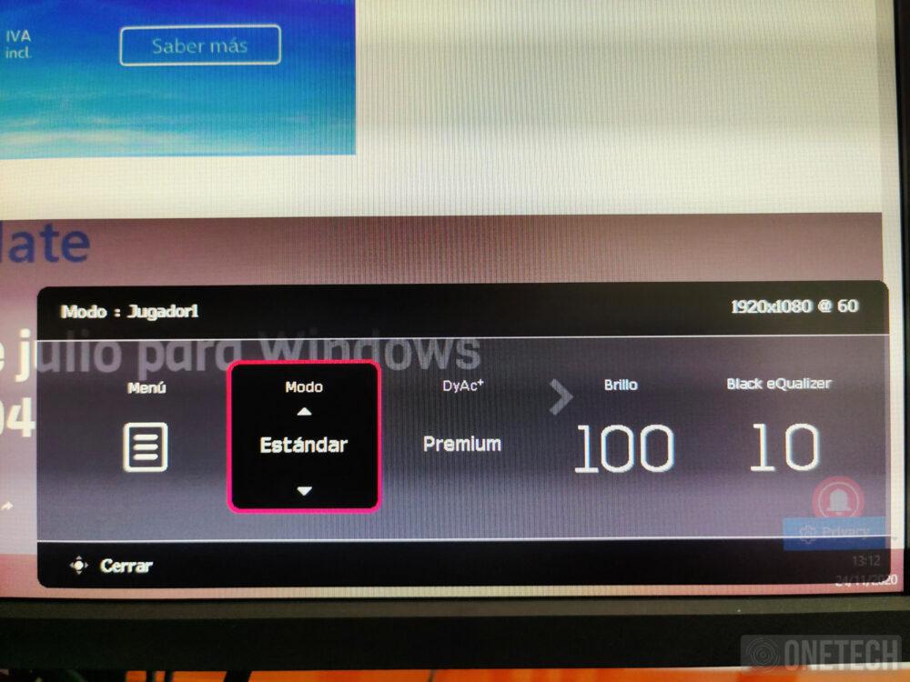 BenQ Zowie XL2546K, un monitor para profesionales de los eSports - Análisis 32