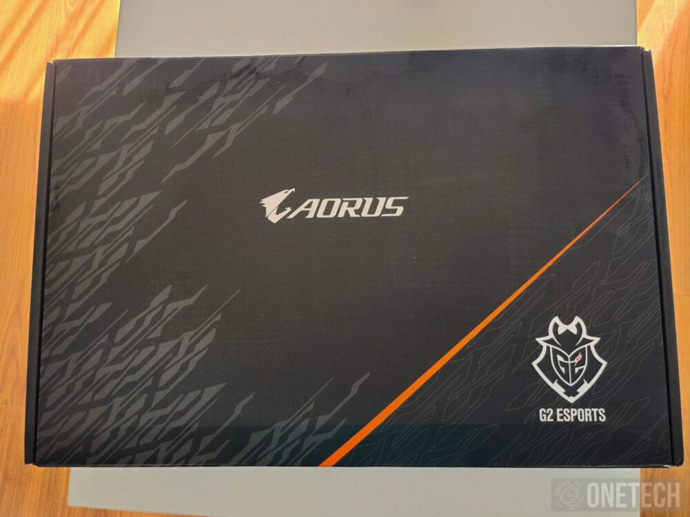 Aorus 17G XB, la experiencia de un portátil gamer con teclado mecánico - Análisis 54