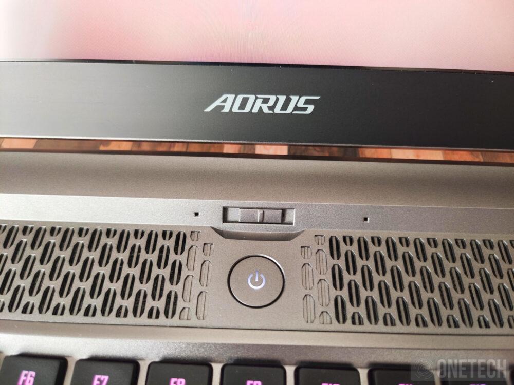 Aorus 17G XB, la experiencia de un portátil gamer con teclado mecánico - Análisis 9