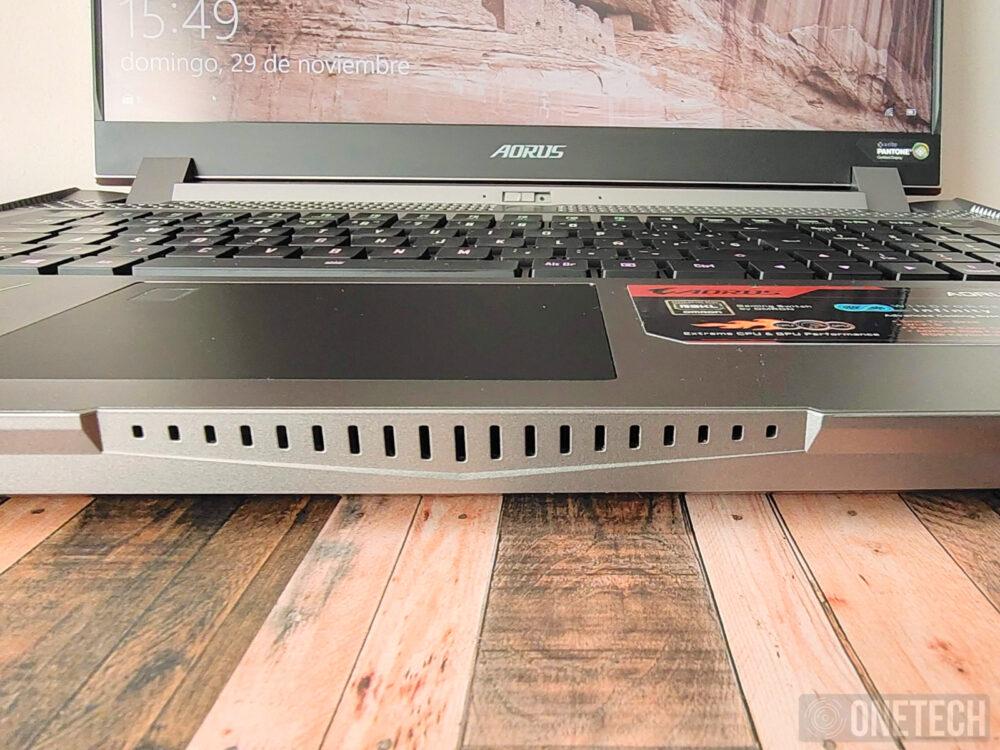 Aorus 17G XB, la experiencia de un portátil gamer con teclado mecánico - Análisis 3