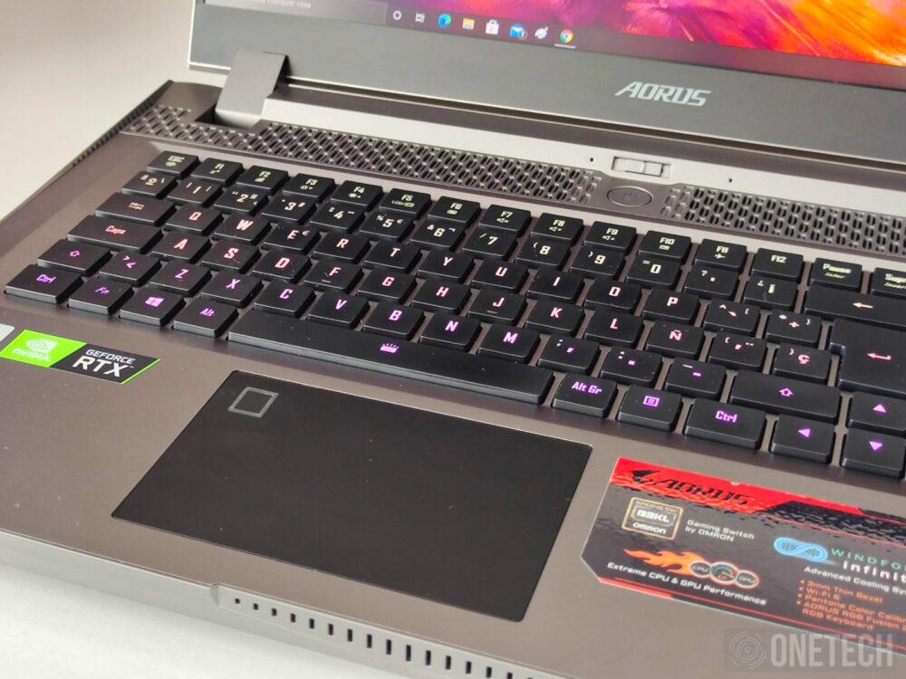 Aorus 17G XB, la experiencia de un portátil gamer con teclado mecánico - Análisis 53
