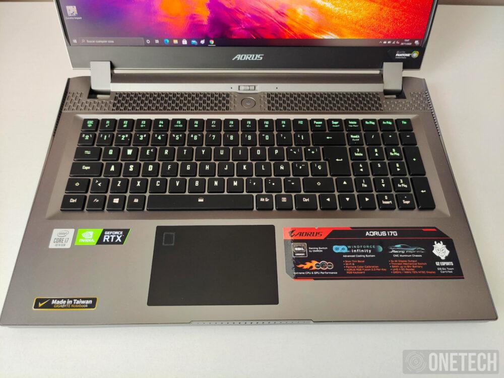 Aorus 17G XB, la experiencia de un portátil gamer con teclado mecánico - Análisis 10