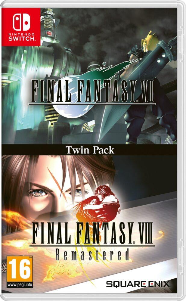 Final Fantasy VII y VIII Remastered llegan a Nintendo Switch en físico 1