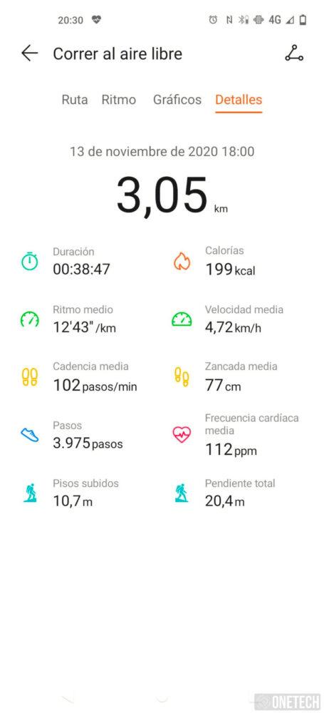 Huawei Watch Fit: un entrenador personal en tu muñeca - Análisis 5