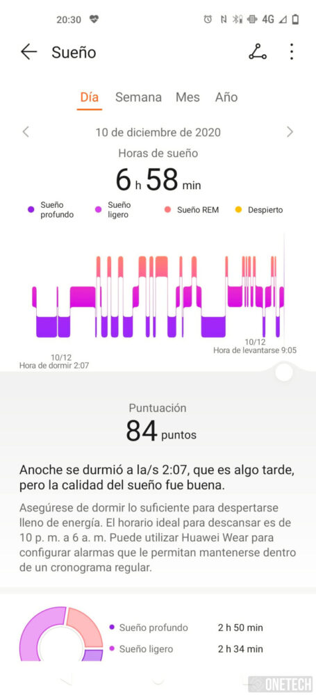 Huawei Watch Fit: un entrenador personal en tu muñeca - Análisis 3