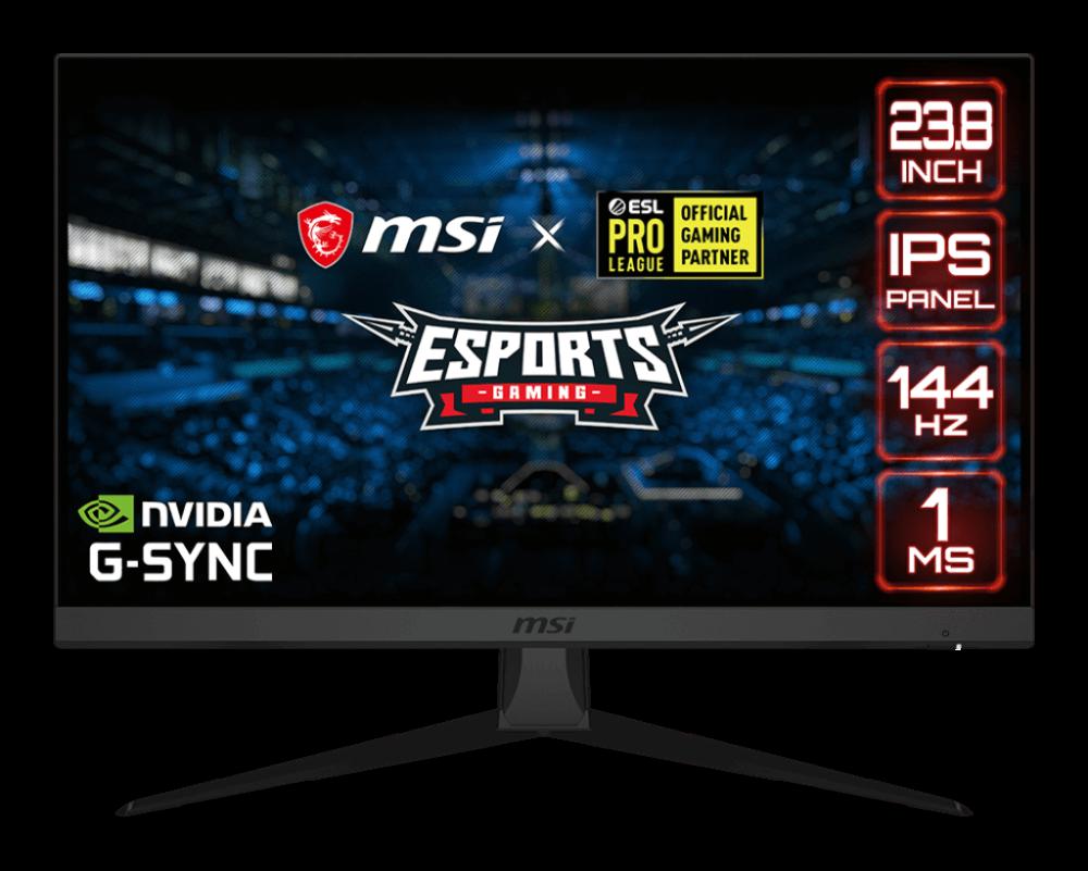MSI Optix G242: el nuevo monitor para Esport de MSI viene con 144Hz de refresco y resolución FHD 1