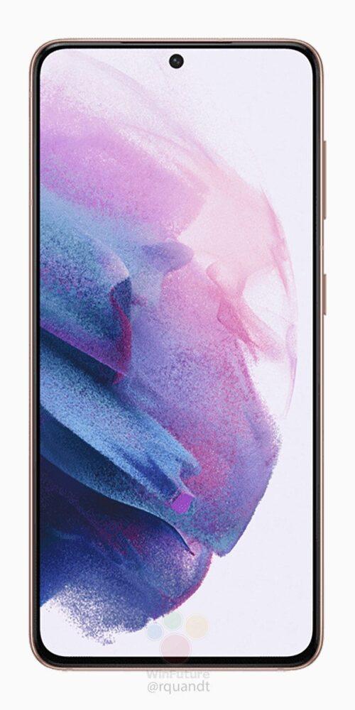 Los Samsung Galaxy S21 Plus se muestran en renders oficiales 4