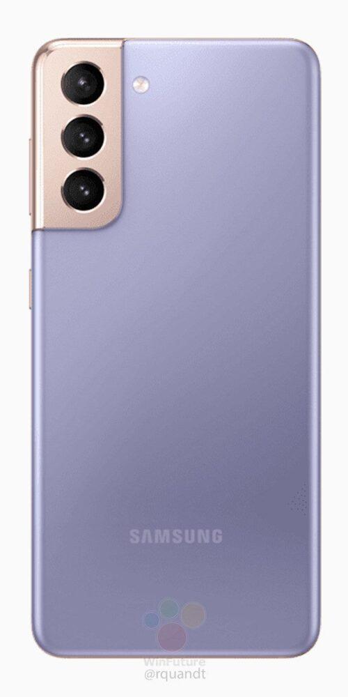 Los Samsung Galaxy S21 Plus se muestran en renders oficiales 2