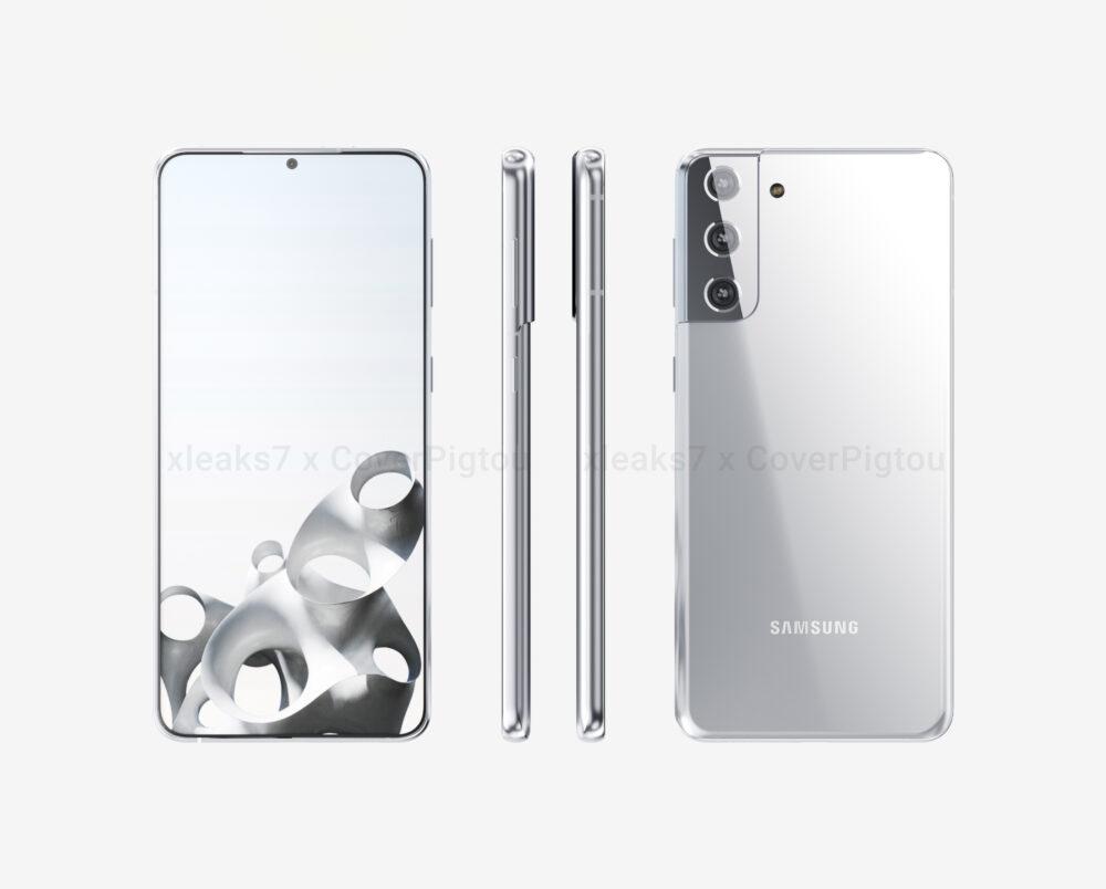 Nuevos renders del Galaxy S21 Plus en alta calidad y en video 1