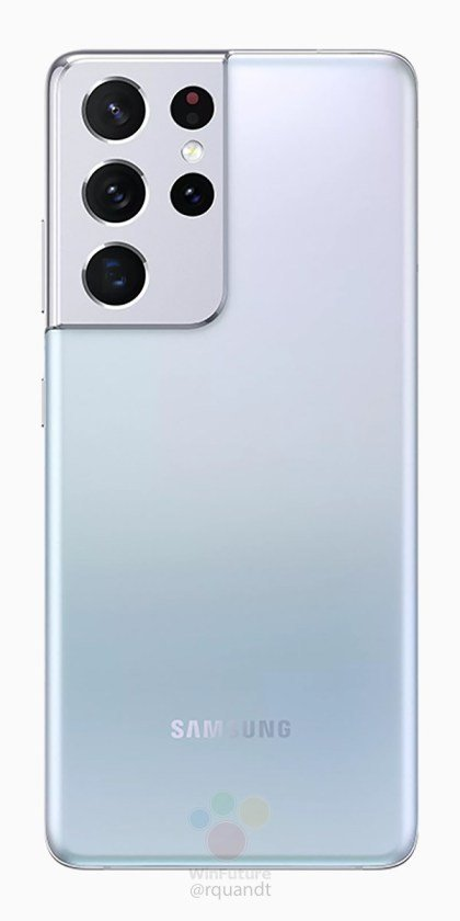 El Samsung Galaxy S21 Ultra también aparece en renders oficiales 2