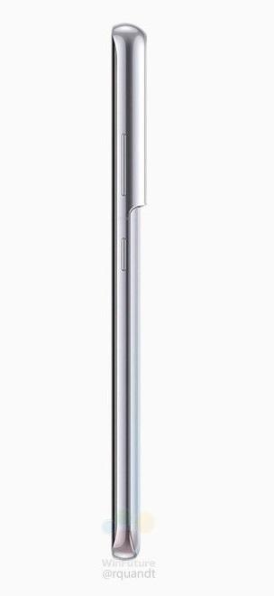 El Samsung Galaxy S21 Ultra también aparece en renders oficiales 3