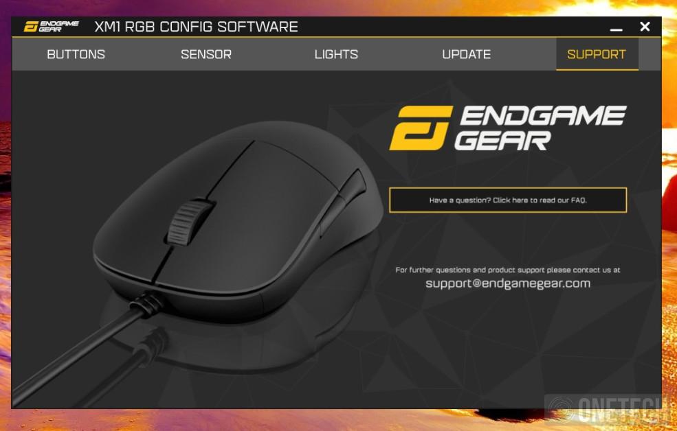 Endgame Gear XM1 RGB, un toque de color sin perder prestaciones - Análisis 4