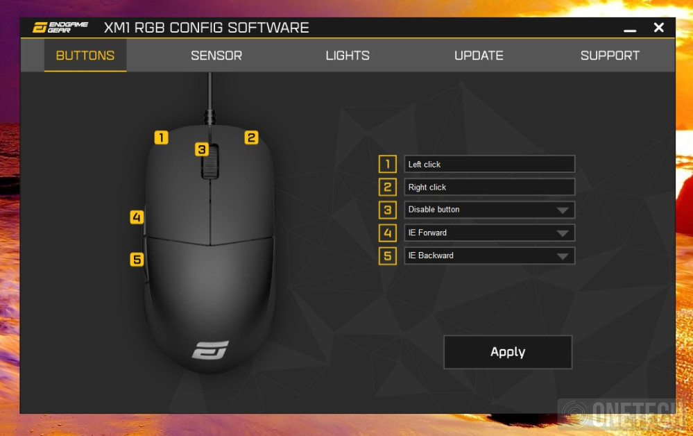 Endgame Gear XM1 RGB, un toque de color sin perder prestaciones - Análisis 5