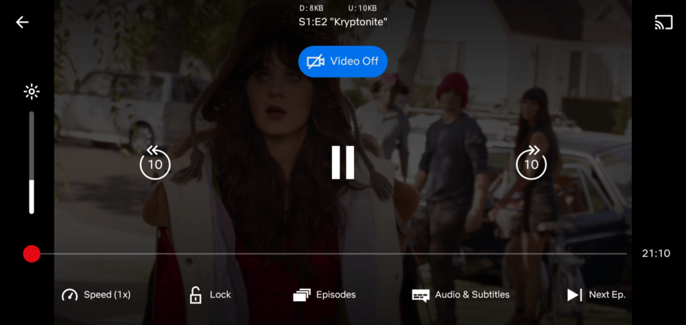 """Netflix está probando un modo de """"Solo audio"""", aunque nadie sabe porqué 10"""
