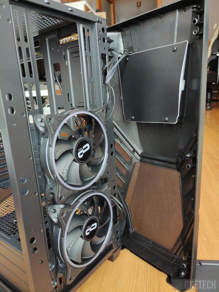 Nox Infinity Delta, una semitorre con dos ventiladores e iluminación ARGB a precio de ganga - Análisis 11