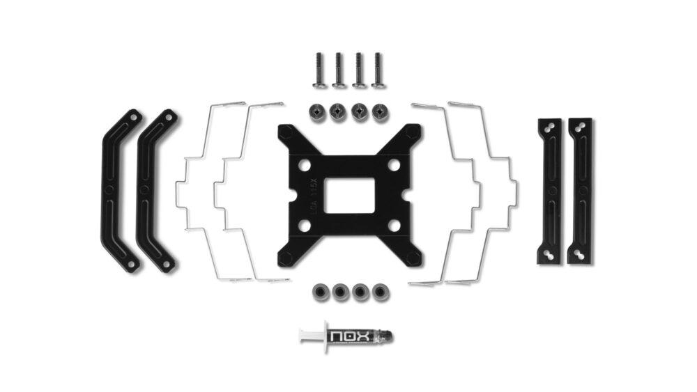 Nox Hummer H-224 Noir, análisis: disipador silencioso, eficiente y además, elegante 1