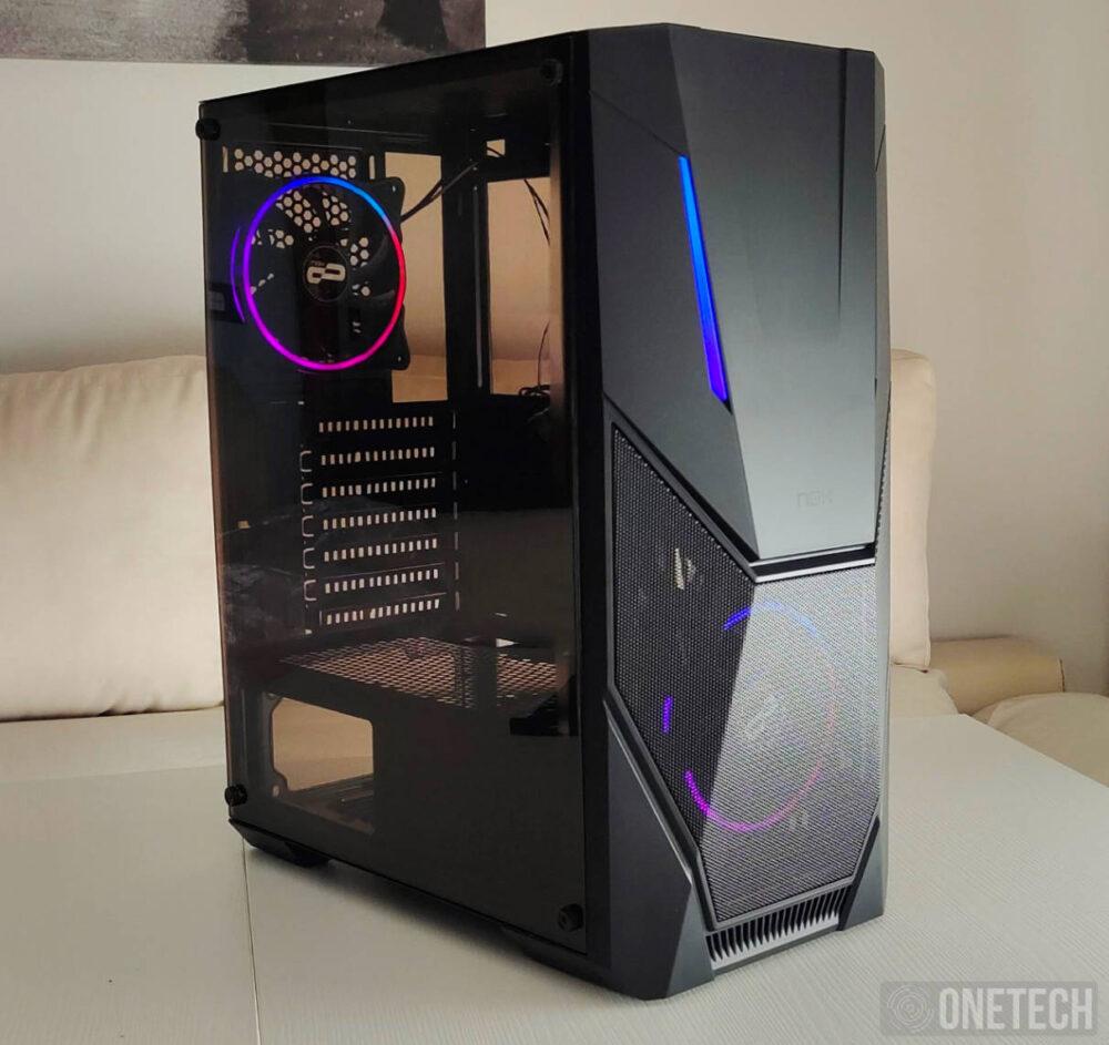 Nox Infinity Delta, una semitorre con dos ventiladores e iluminación ARGB a precio de ganga - Análisis 13