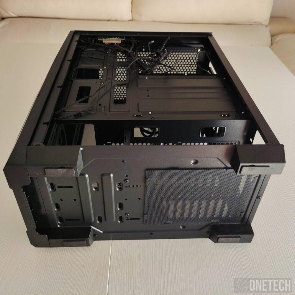 Nox Infinity Delta, una semitorre con dos ventiladores e iluminación ARGB a precio de ganga - Análisis 2