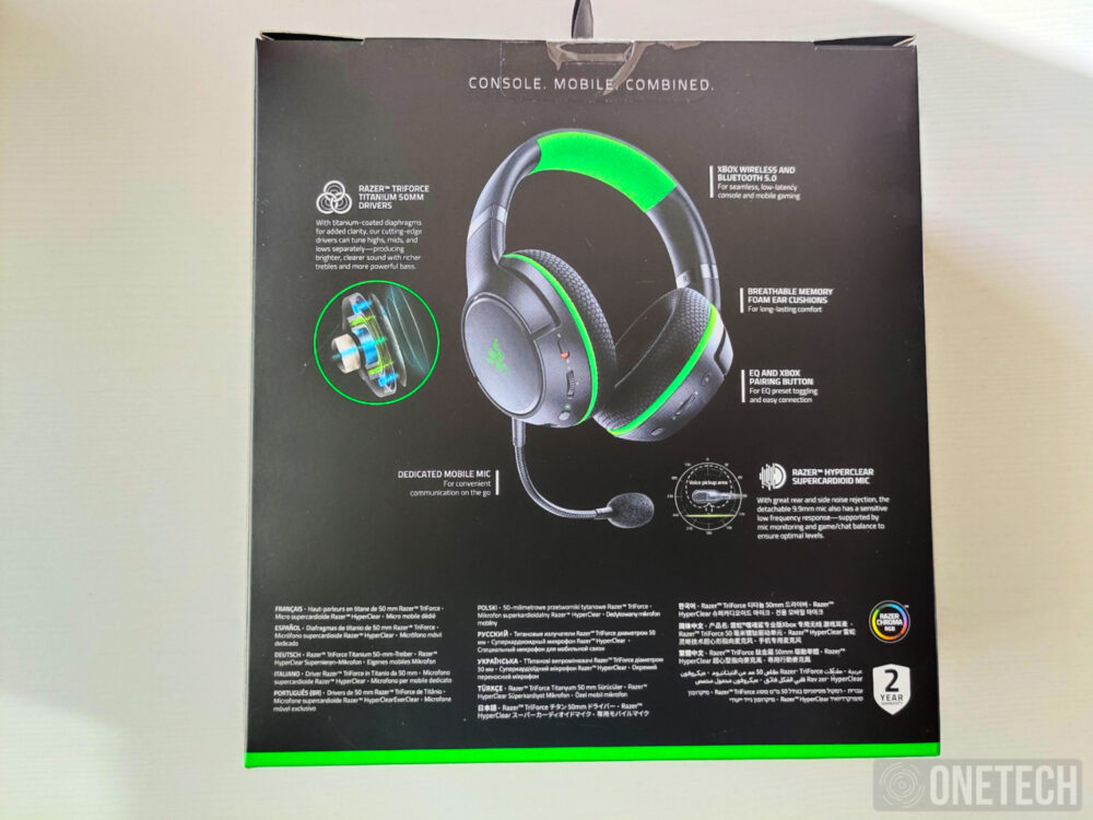 Kaira Pro, probamos los auriculares para Xbox Series X|S y xCloud de Razer - Análisis 2