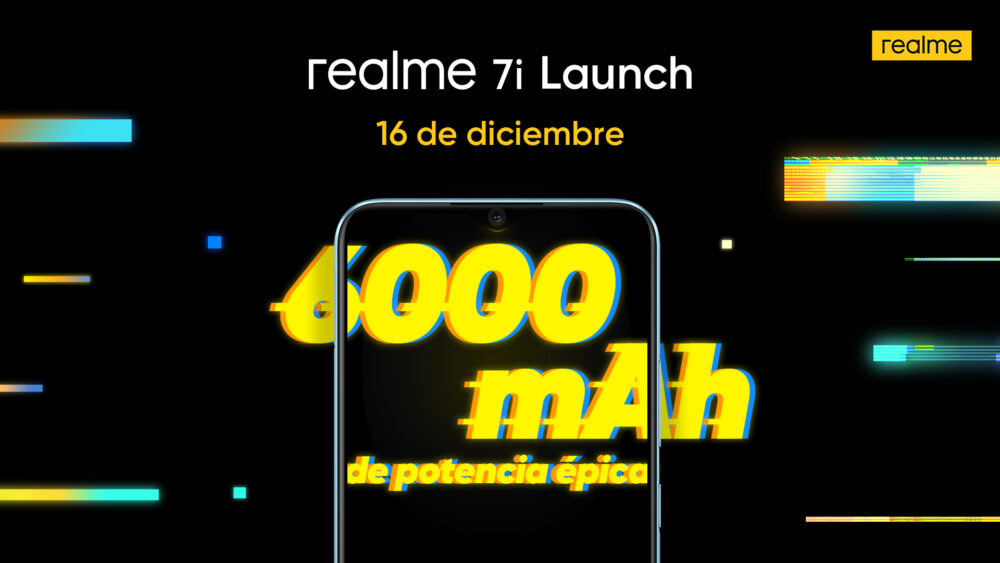El Realme 7i llegará a España el 16 de Diciembre con una batería de 6.000 mAh 1