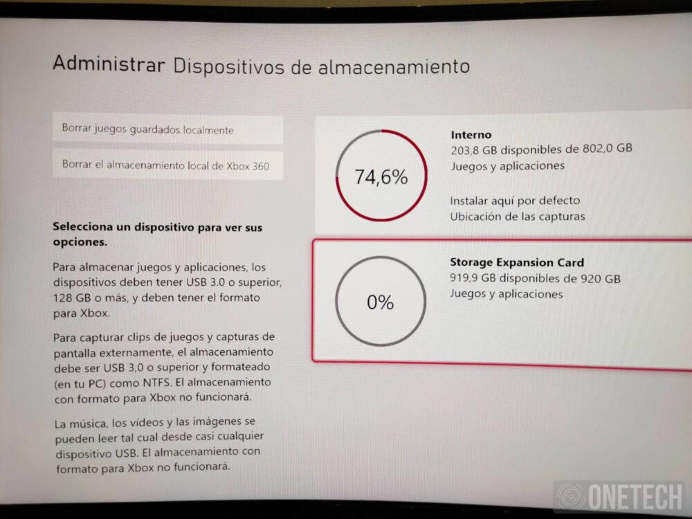 Seagate Expansion Card para Xbox Series X S