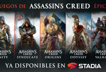 Ubisoft anuncia tres nuevos juegos para Stadia 4