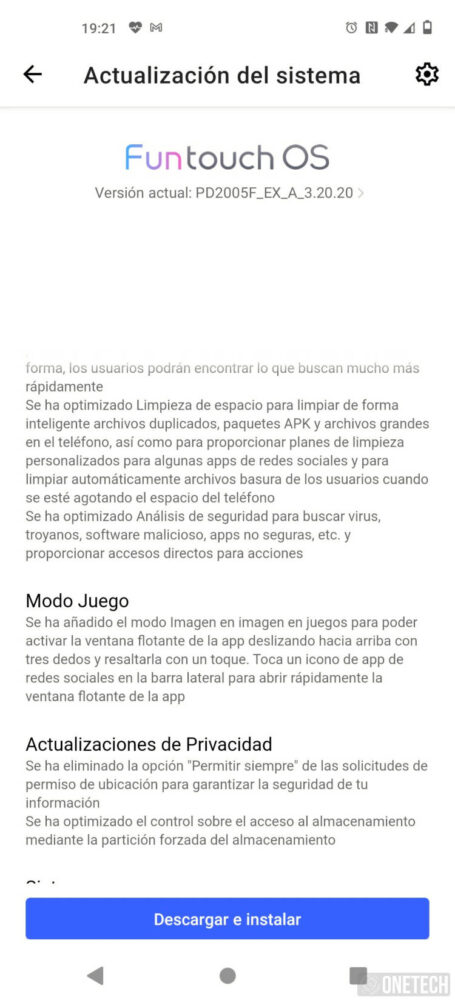 El Vivo X51 5G se actualiza y ya cuenta con Android 11 3