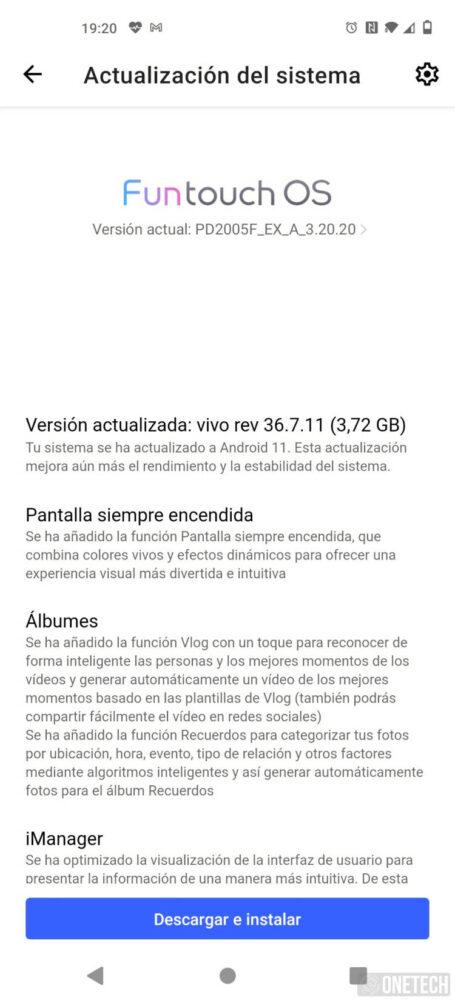 El Vivo X51 5G se actualiza y ya cuenta con Android 11 2