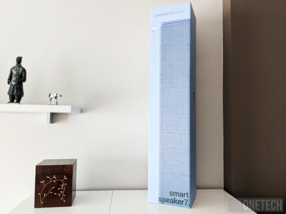 Energy Smart Speaker 7, torre de sonido con Alexa - Análisis 12