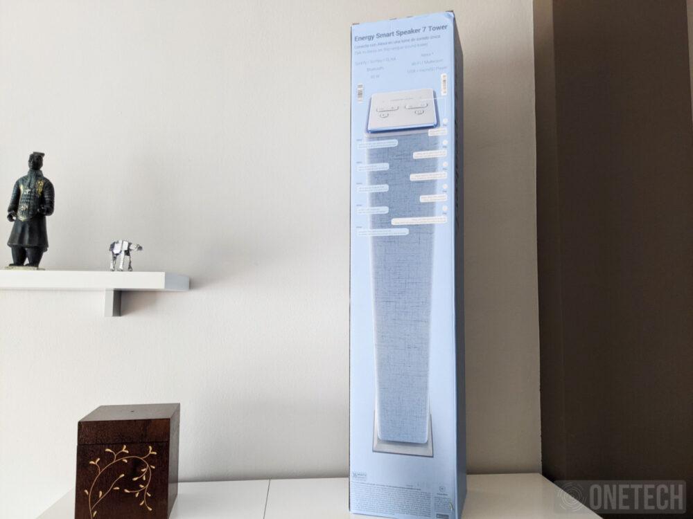 Energy Smart Speaker 7, torre de sonido con Alexa - Análisis 11