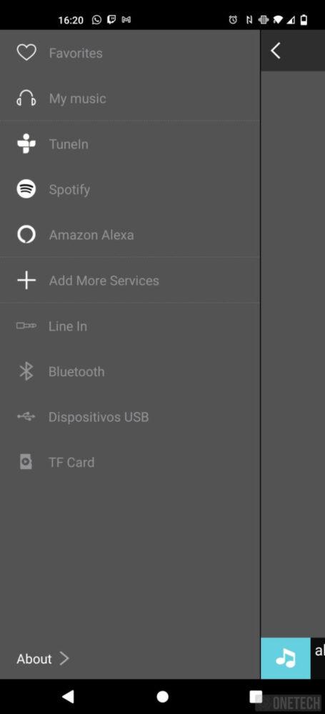 Energy Smart Speaker 7, torre de sonido con Alexa - Análisis 5