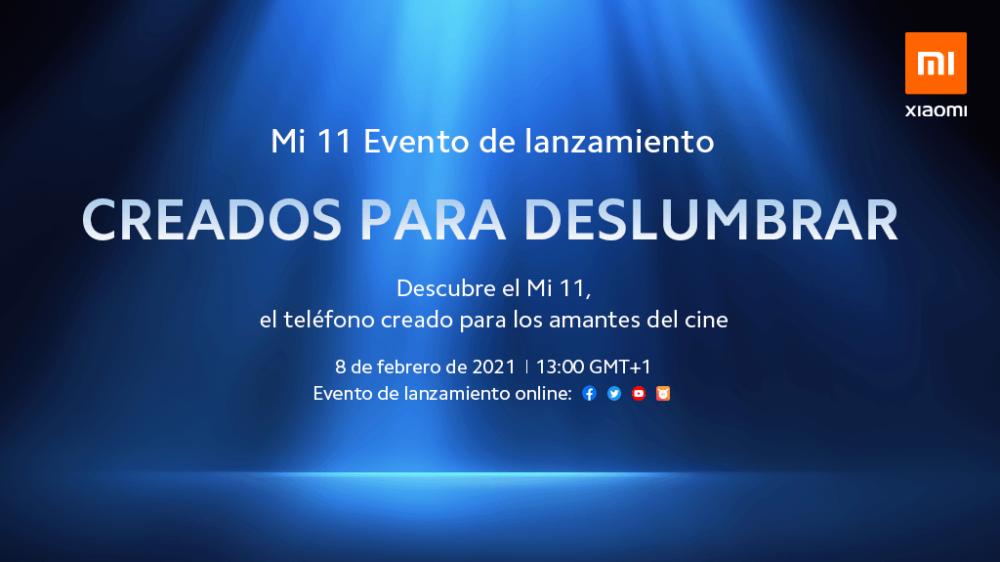 Xiaomi Mi 11, evento de lanzamiento