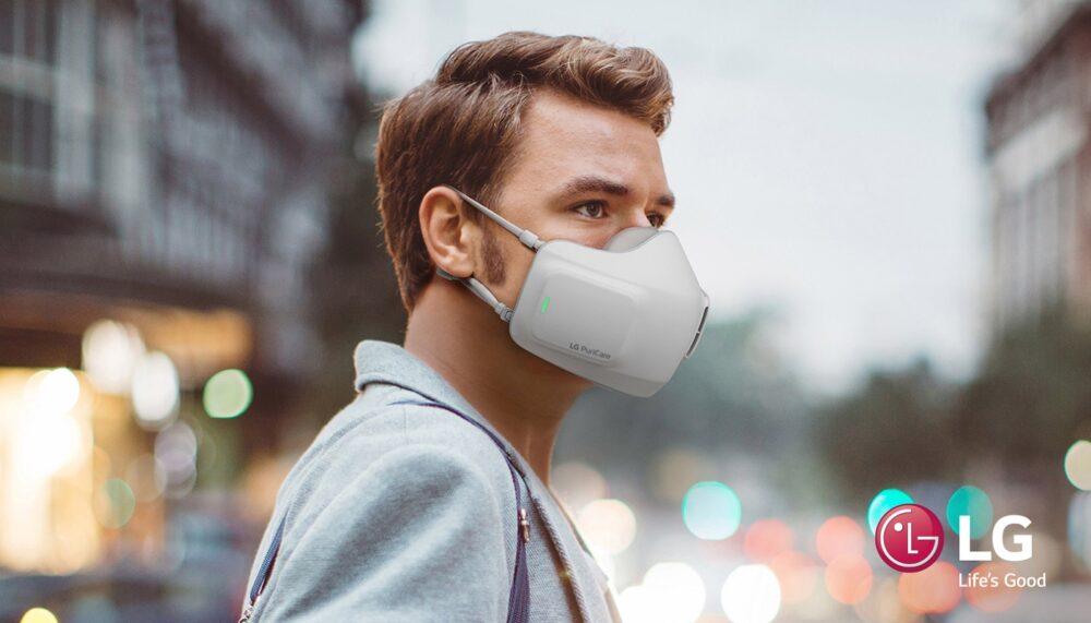 LG PuriCare Air Purifying Mask la mascarilla de alta eficacia de LG llega a España 1