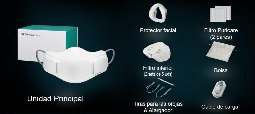 LG PuriCare Air Purifying Mask la mascarilla de alta eficacia de LG llega a España 2