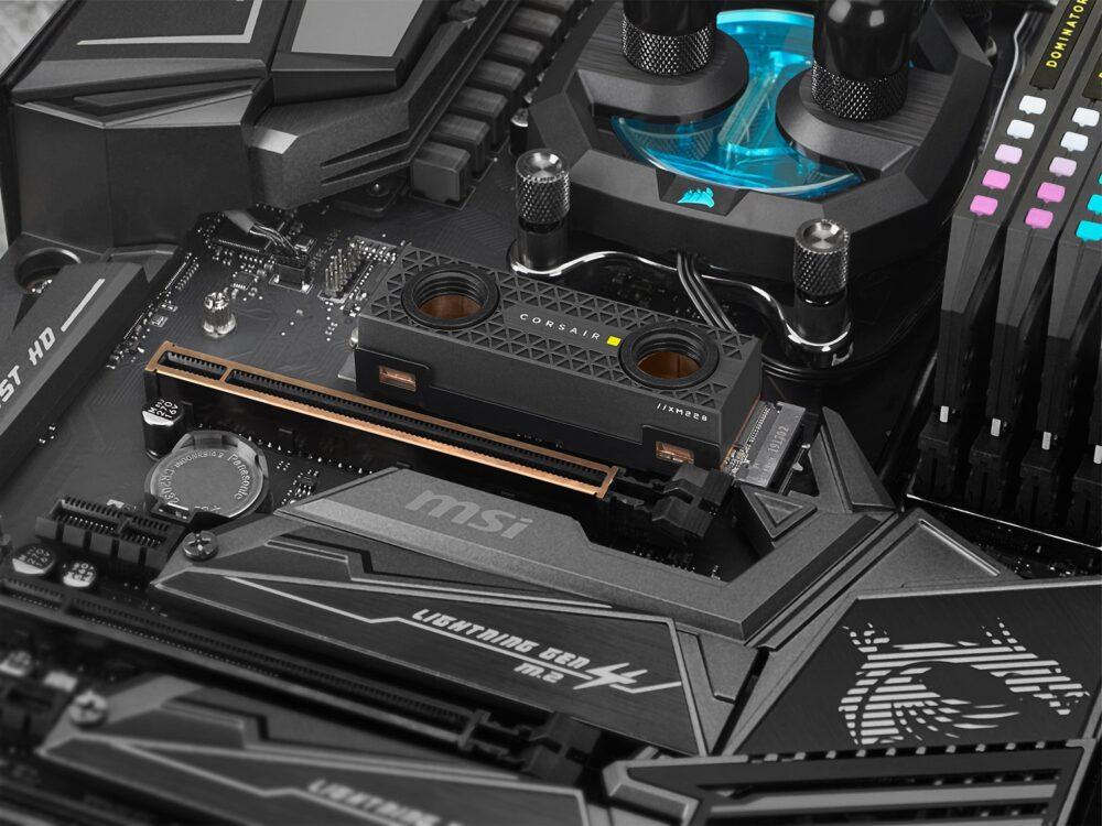 Corsair presenta sus nuevos (y rápidos) discos SSD Gen4 13