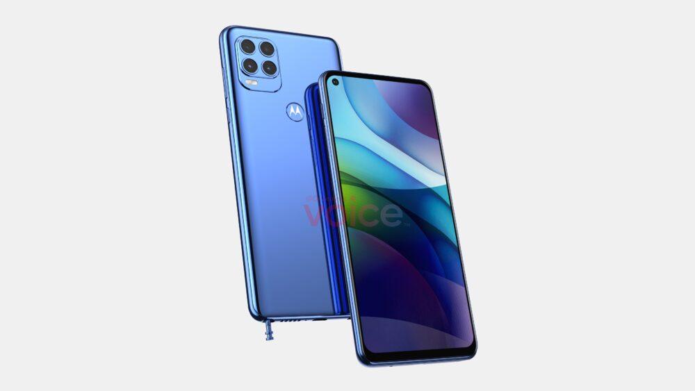 Motorola Moto G Stylus 2021, asi se verá según una nueva filtración 1