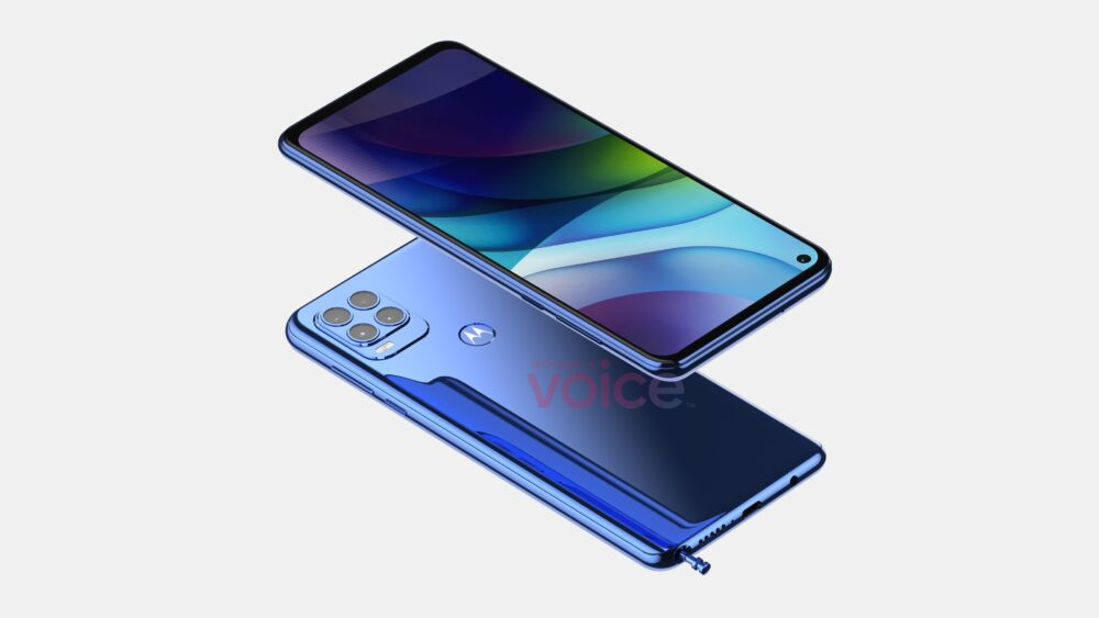 Motorola Moto G Stylus 2021, asi se verá según una nueva filtración 2