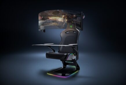 Project Brooklyn, la silla gamer de Razer con pantalla desplegable de 60 pulgadas 9