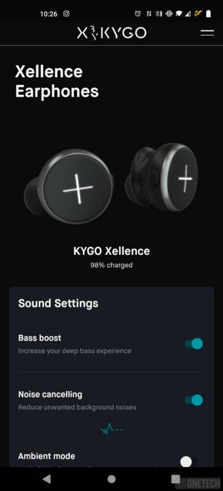 Xellence de X by Kygo, auriculares TWS con cancelación activa de ruido - Análisis 7