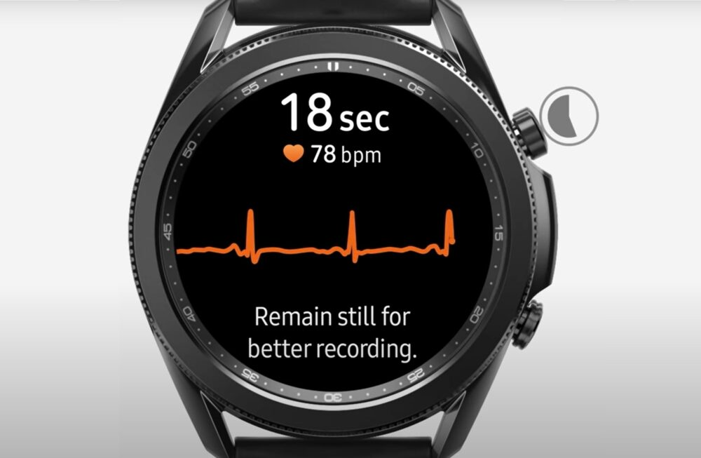electrocardiograma galaxy watch