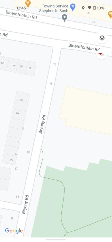 Google Maps comienza a mostrar en sus mapas detalles como los pasos de peatones 5