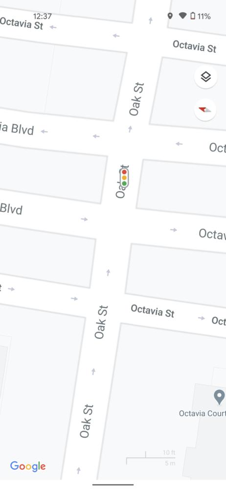 Google Maps comienza a mostrar en sus mapas detalles como los pasos de peatones 4